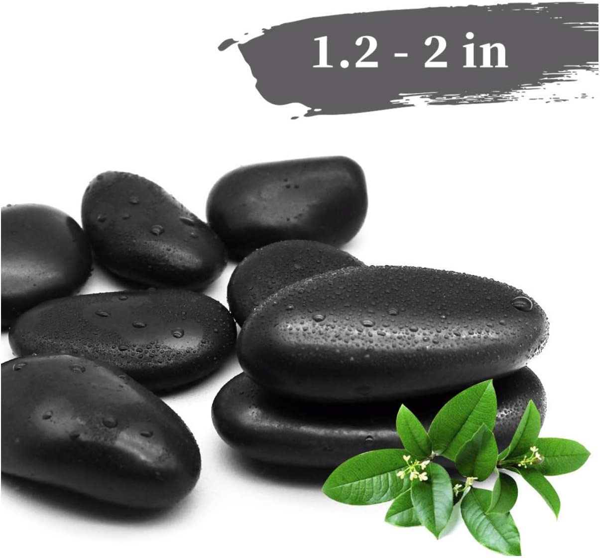 Amazon Com 6 Lbs Black Large Rocks Accents Plants Arts Craft Outside Big Black Rocks Colored Vase Filling Decorative Garden White Vase Filling Black Stones Pebbles Glass Gems Fish Tanks Decor Aquariums Home