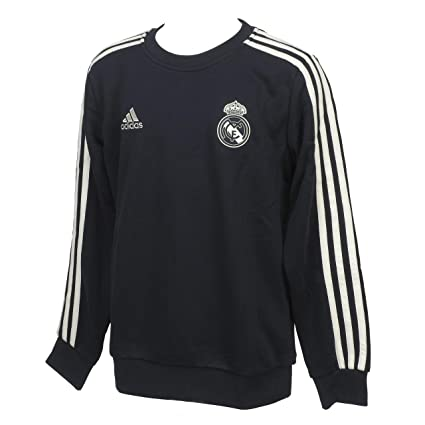 adidas Sudadera Real Madrid 2018-2019 Niño Tech onix-White Talla 140