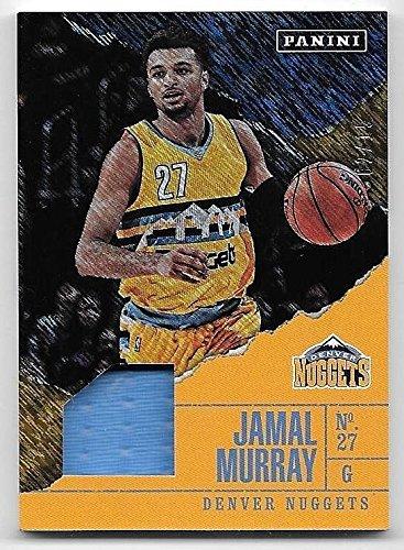 2017 Panini Father's Day Shimmer #BK10 Jamal Murray Jersey Card #02/15 (Card Shimmer)