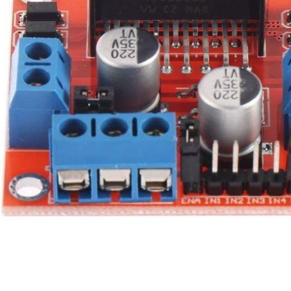 Uzinb 2 Ruedas de rastreo del Sensor Inteligente del Robot del chasis del Coche Kit codificador de la Velocidad de Sonic Motor Module Compatible para el Proyecto Arduino