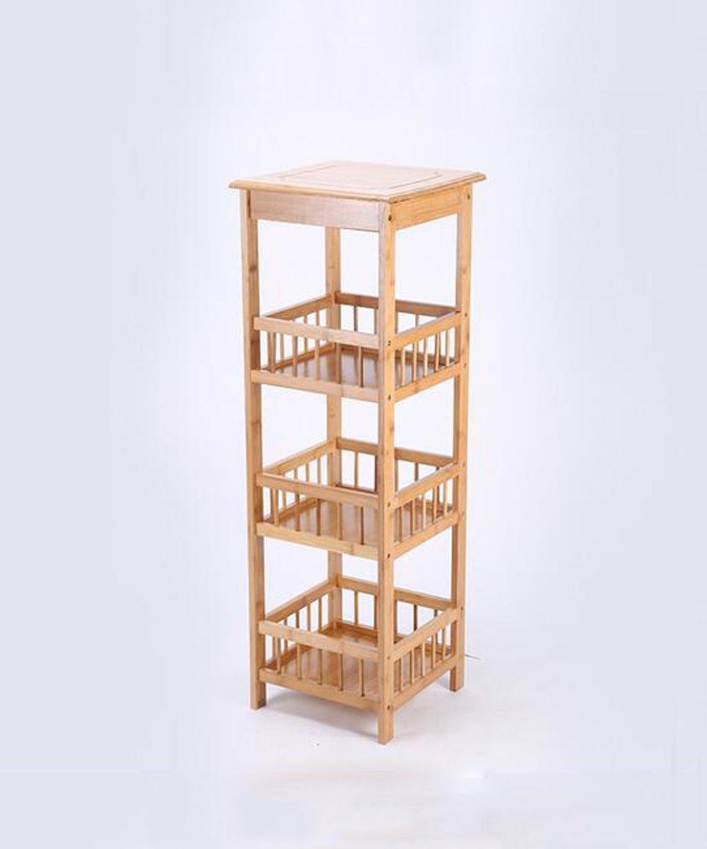 HZA Herstellung von Mehrschicht -Bambus Blume-Racks, Regale, Zeitungsständer , Boden-Racks, retro Blume, Blumen Salon Hochwertige Materialien ( größe : 100cm )