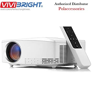 Amazon.com: VIVIBRIGHT C80/C80UP 720P HD Proyector de cine ...