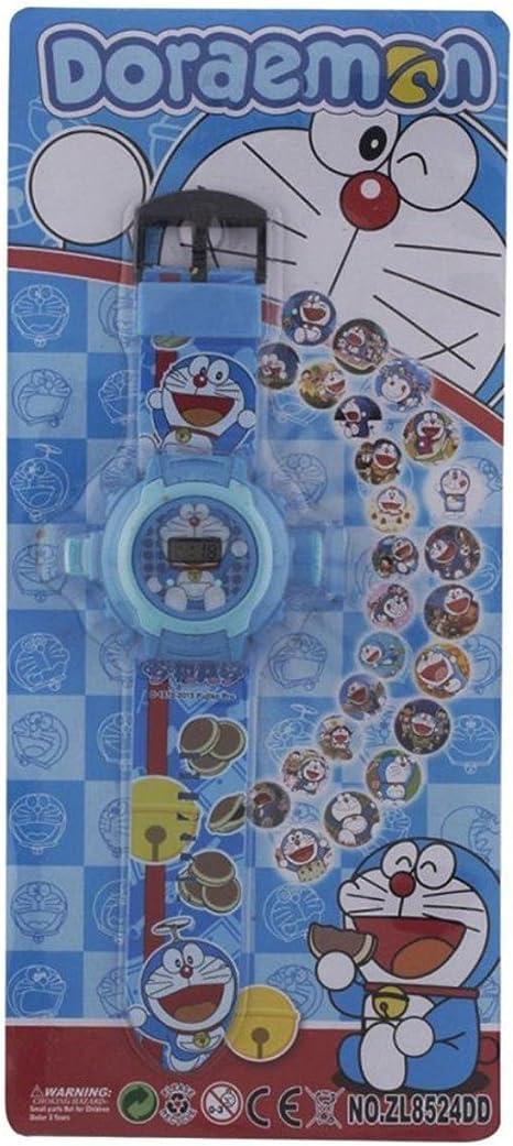 Reloj de pulsera Buycrafty Doraemon con proyector de 24 imágenes ...