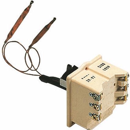 Cotherm - Termostato para calentador de agua - Tipo BTS 270 con 2 bulbos - :