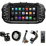 8 TFT Touchscreen GPS Navigation for KIA SOUL 2014 2015 Android 5.1 Quad-