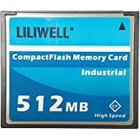 LILIWELL Original 512 MB CompactFlash Card Industrial 512m CF Type I Card