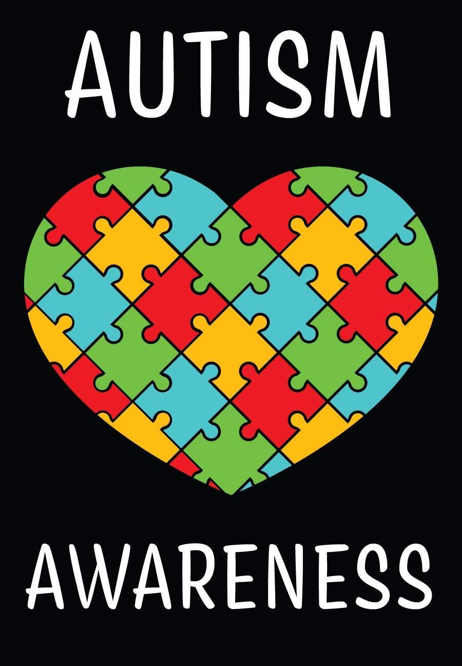 """Briarwood Lane Autism Awareness Garden Flag 12.5"""" x 18"""""""