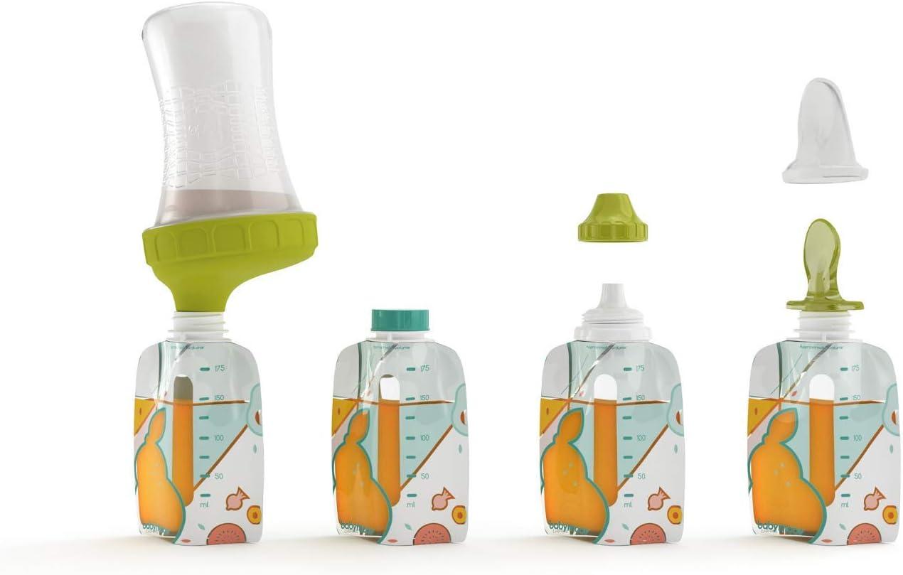 Babymoov A004616 - Kit con cantimploras reutilizables