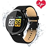 OUKITEL W1 Smartwatch Android Smart Watch Telefono OLED Orologio Fitness Sport Android Wear Pedometro Bluetooth per Donna Uomo Bambini per iPhone Samsung Sony Android iOS Smartphone
