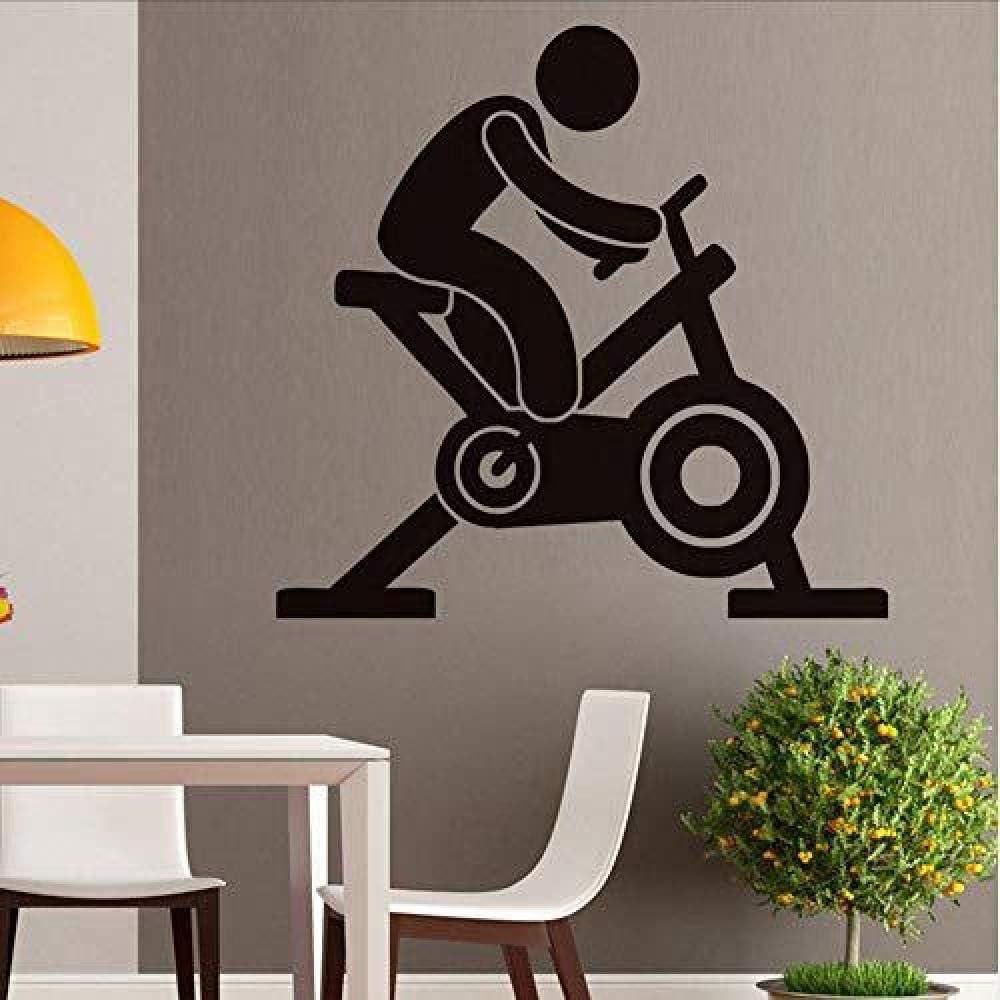 ljmljm Negro 57x60cm Fitness Club Gimnasio Spinning Bicicleta ...
