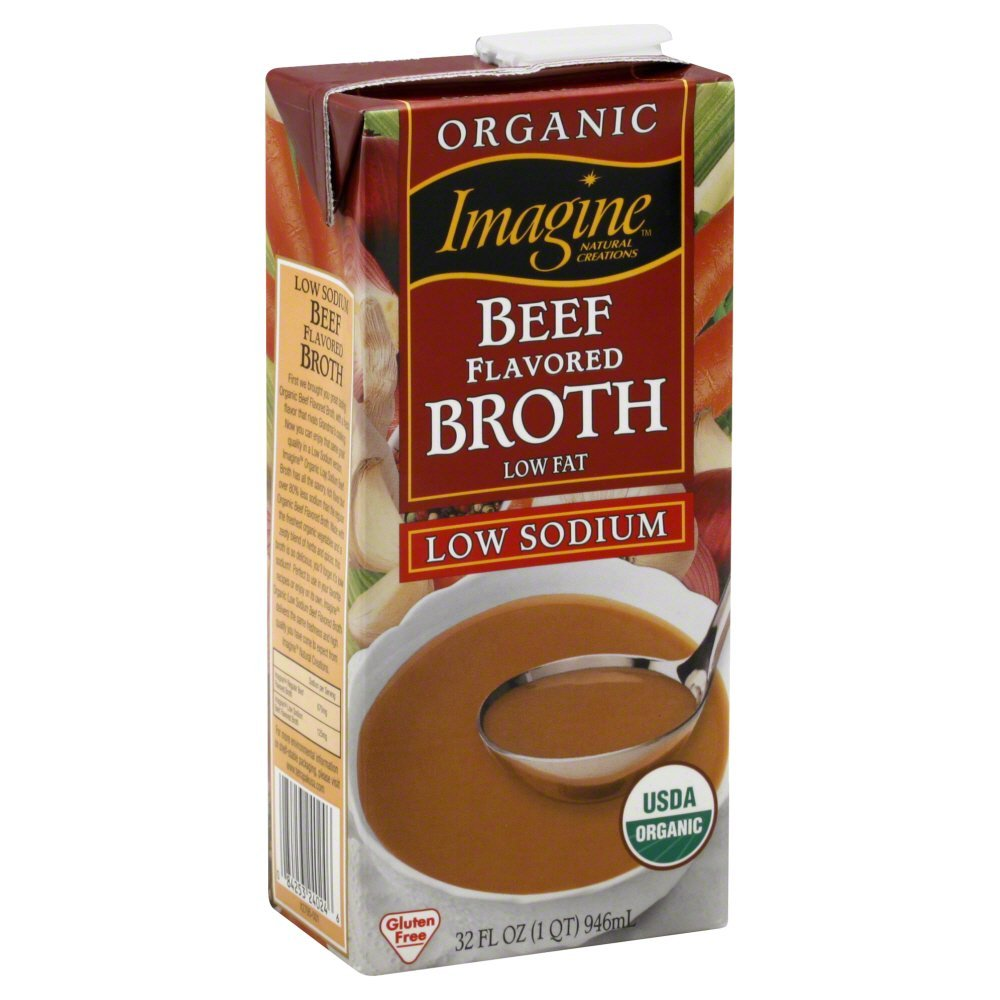 Imagine Foods Beef Broth 12x 32OZ