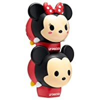 Lip Smacker Disney Tsum Tsum Lip Balm Duo, Marshmallow Pop and Strawberry Lollipop, 2 Count