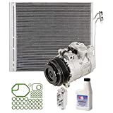 AC Compressor w/A/C Condenser & Repair Kit For Land Rover Range Rover - BuyAutoParts 60-82376R6 New