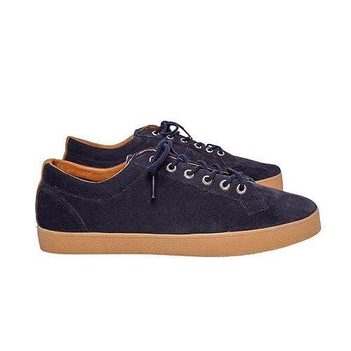 Pompeii, Zapatillas Hombre, Egret, Navy Caramel, 40: Amazon.es: Zapatos y complementos