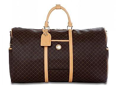 a029747892b4 Amazon.com: Signature Brown Duffel Traveler by Rioni Designer Handbags &  Luggage: Shoes