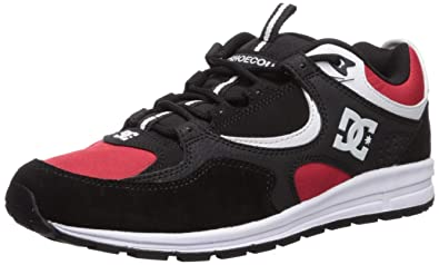 ffcbf6f8fbad DC Men s Kalis LITE Skate Shoe Black Athletic red White 6 ...