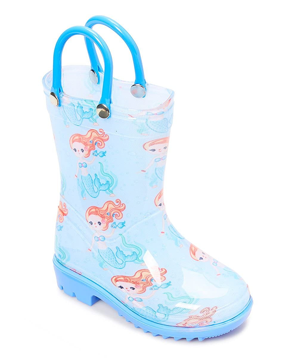 Storm Kidz Kids Girls Printed Rainboots Assorted Prints Toddler//Little Kid//Big Kid Sizes