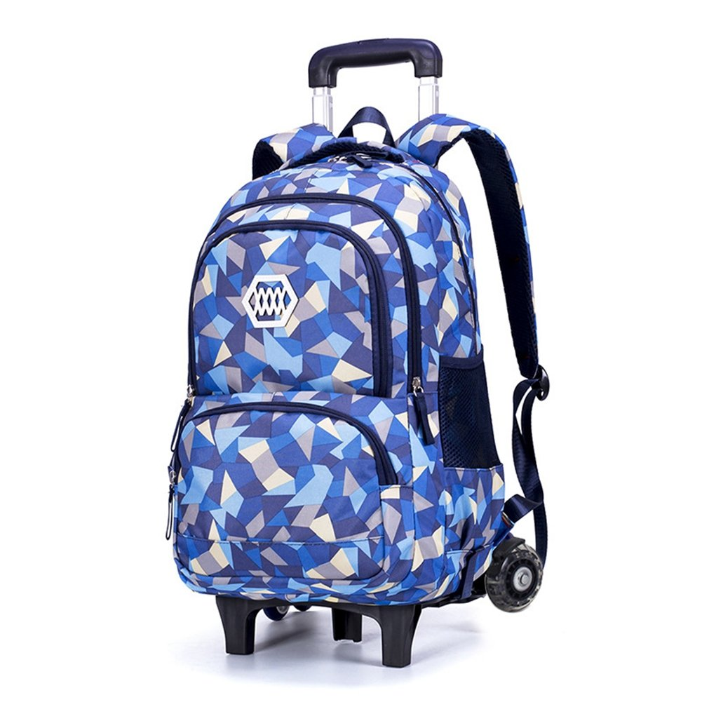 RYC Trolley Bag Cadeaux Rentrée Scolaire Sac à Dos roulettes 2 en 1 Cartable  Roulette Bagages 707b636ca4e8