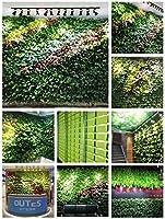 TTIK Jardín Vertical Exterior decoración de Plantas para 20 Bolsillos Colgantes para Colocar en el Suelo o Colgar en la Pared,Mecanismo de Drenaje Innovador, Largo Ciclo de Vida,Verde: Amazon.es: Hogar
