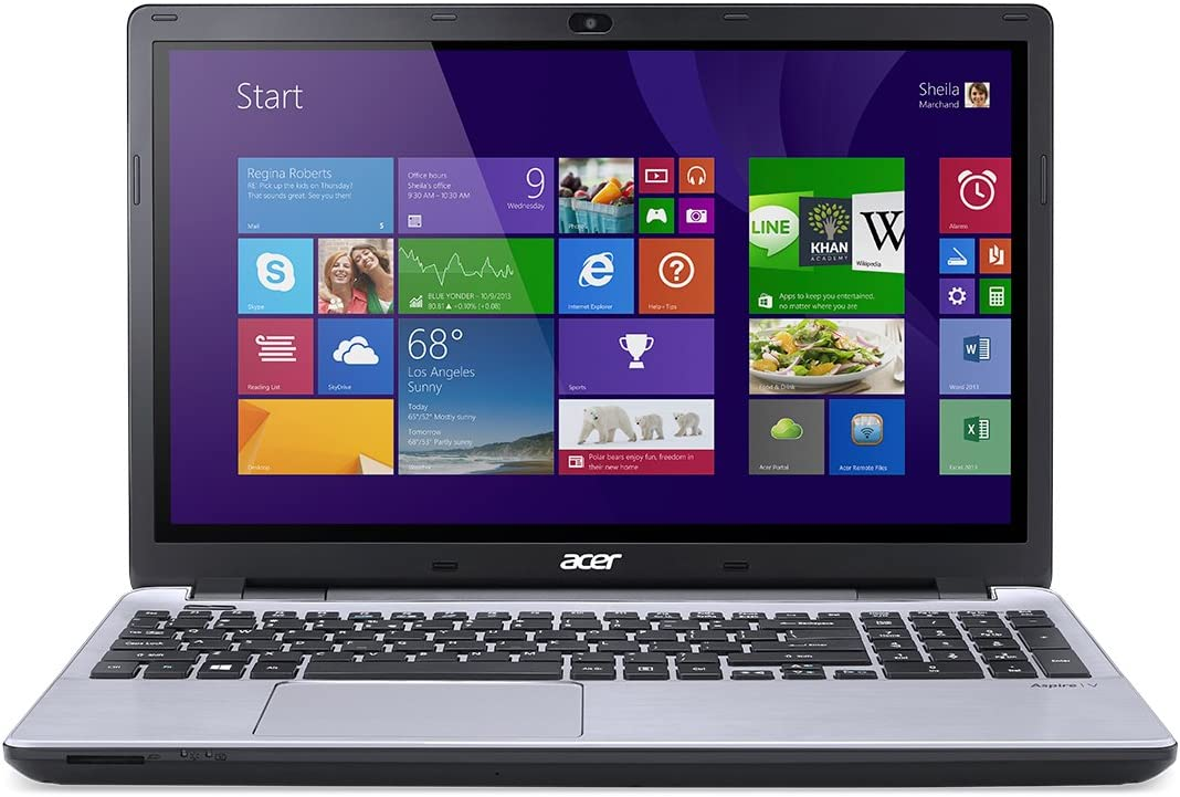 Acer Aspire V 15 V3-572PG-7915 15.6-Inch HD Touchscreen Laptop (Platinum Silver)