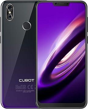 CUBOT P20 Smartphone 4G Teléfono Móvil Pantalla 4GB + 64GB 18:9/6.18 Pulgadas Android 8.0 Dual Sim Teléfono Libre 4000mAh Dual Cámara 5V 2A Carga rápida Octa-Core WiFi Bluetooth GPS CUBOT Oficial: Amazon.es: