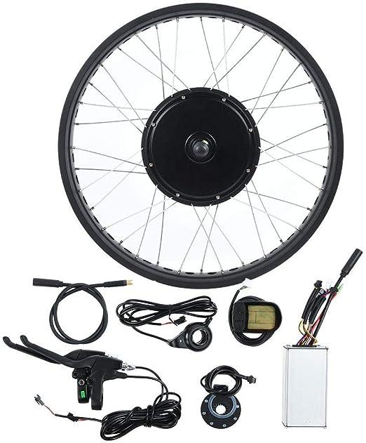 Caredy Kit de conversión de Motor eléctrico para Bicicleta ...