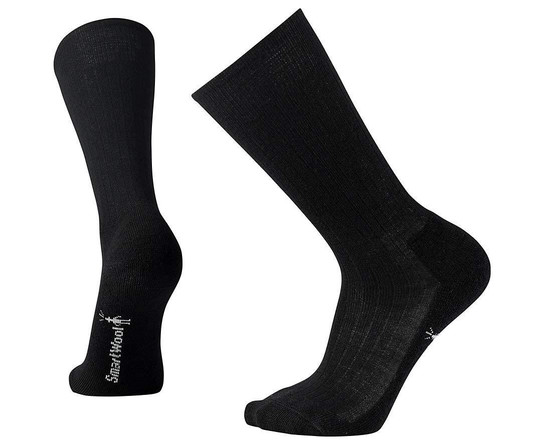 SmartWool Men's New Classic Rib Socks (Black) Medium by SmartWool