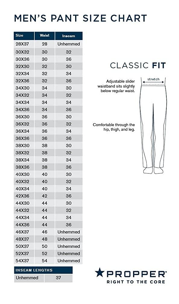 Propper Edgetec Pants 34 x Large Khaki W 34