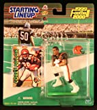 : COREY DILLON / CINCINNATI BENGALS 1999-2000 NFL Starting Lineup Action Figure & Exclusive NFL Collector Trading Card