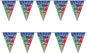 PJ Masks banderines, 3 Metros lineales banderín