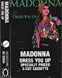 1984 Madonna Dress you Up / Shoo-Bee-Doo Old School Vintage Cassette Tape specially priced 3-Cut Cassette Sire 92 03694