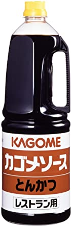 Kagome tonkatsu sauce restaurant for chauffeur 1.8L