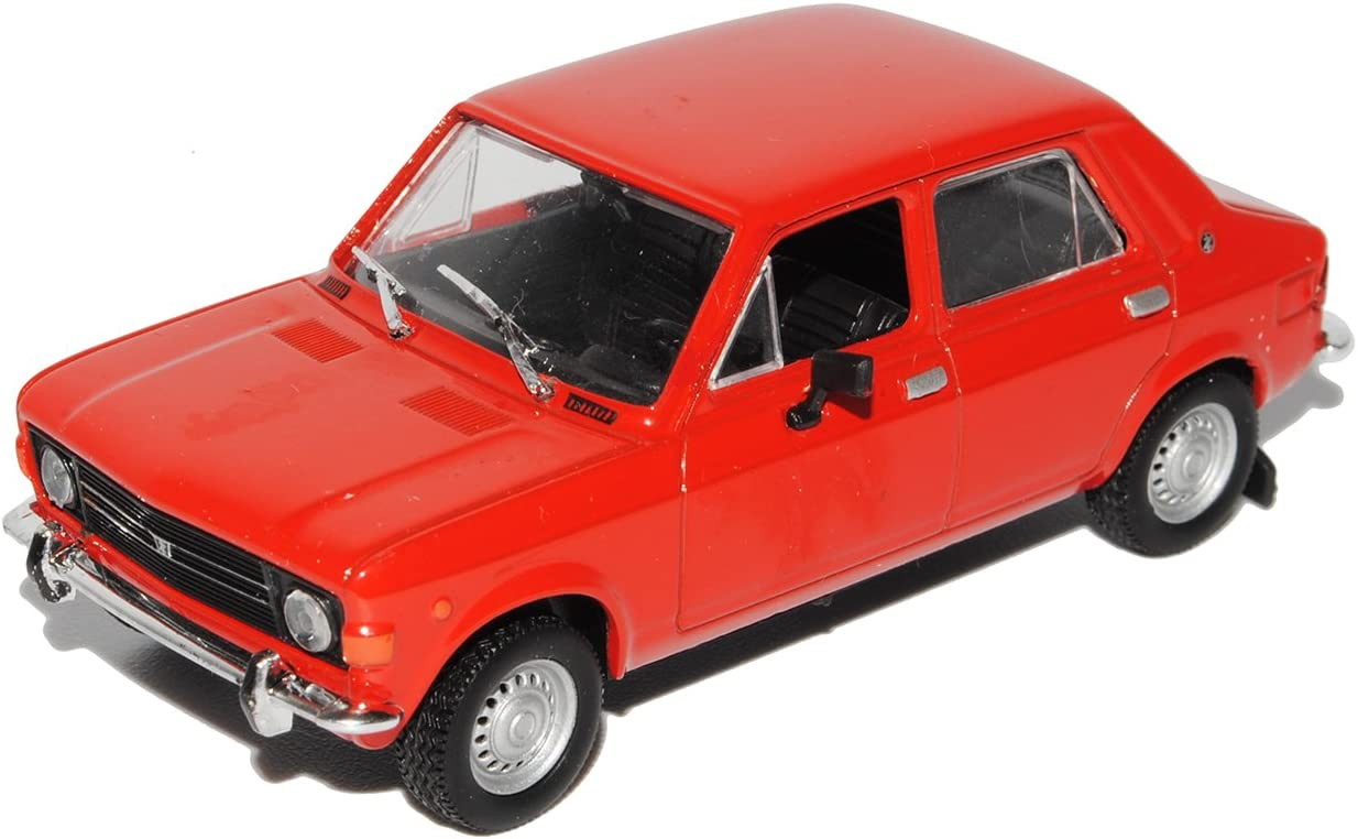 Zastava 1300 = Fiat 1500 weiss Ostalgie Modellauto in Vitrine 1:43