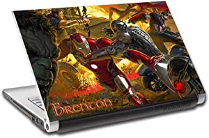 """Avengers Infinity War Marvel Personalized LAPTOP Skin Cover Decal Sticker L771, 14"""""""