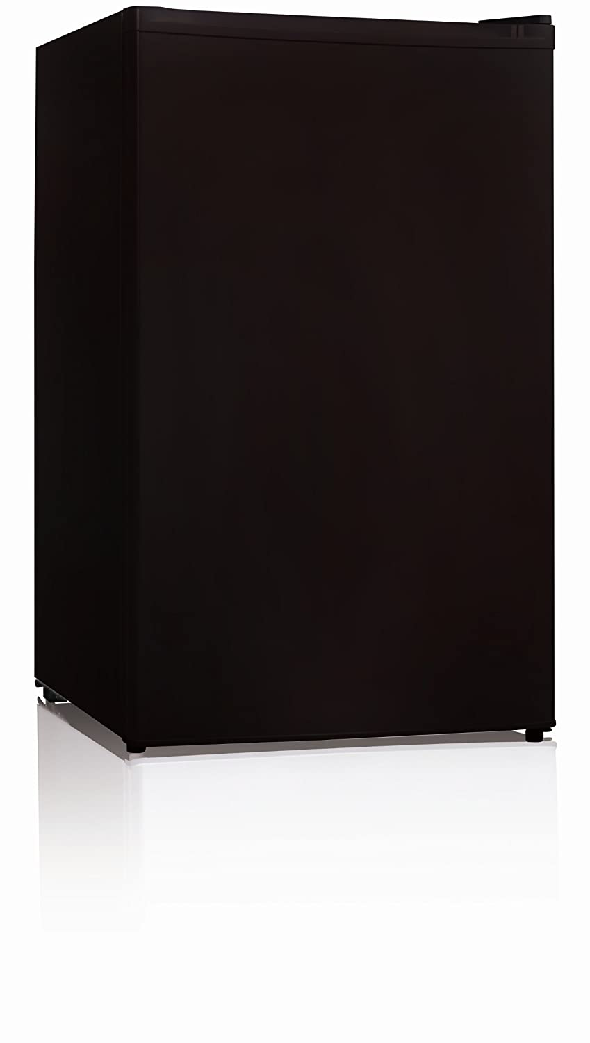 Midea WHS-109FB1 Compact Single Reversible Door Upright Freezer, 3.0 Cubic Feet, Black