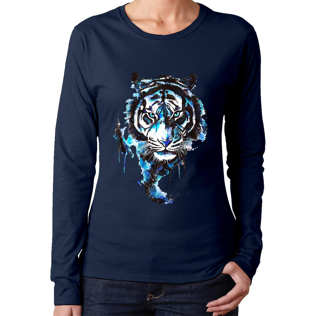 The Tiger Is Coming Fashion Funny Graphic Shirt 6107