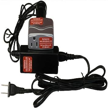 NMS (if-vc) 75 Watt International de doble voltaje y adaptador de viaje de frecuencia (50 hz, 220 V a 60 hz, 120 V): Amazon.es: Electrónica