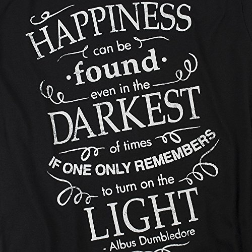 ace89c2a7 Harry Potter Dumbledore Happiness Quote T Shirt & Exclusive Stickers