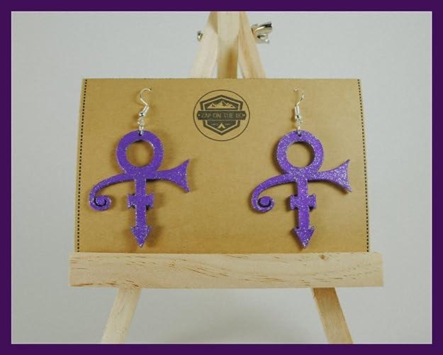Amazon Prince Earrings Love Symbol Geek Gifts Music Gifts