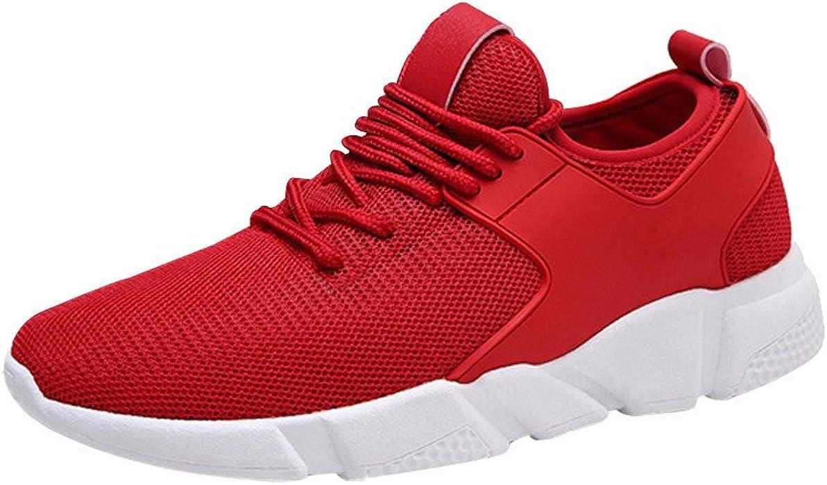 Beladla Zapatillas Mujer Zapatillas Running Mujer Zapatillas Deportivas Mujer Encaje Transpirable De Cordones En Gimnasio