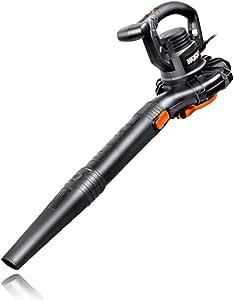 WORX WG507 12 Amp 2-Speed 3-in-1 Electric Blower/Mulcher/Vacuum