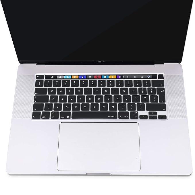 MOSISO Cubierta del Teclado Protectora Compatible con 2019 MacBook ...