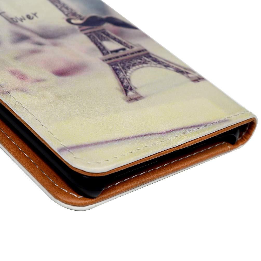 H/ülle f/ür Samsung Galaxy S10 S10 Plus Gemalt Vorne schnallen Leder Handyh/ülle Klappbares Brieftasche Schutzh/ülle Wallet Case Cover mit Integrierten Kartensteckpl/ätzen Blauer Schmetterling 6.4 Zoll