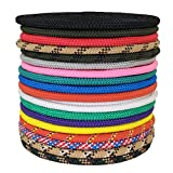 SGT KNOTS 1/4'', 3/8'', 5/8'' Utility Rope Made in USA - Several Colors & Lengths (Black - 5/8''x300')