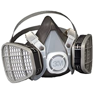 3M Half Facepiece Disposable Respirator Assembly 5301, Organic Vapor