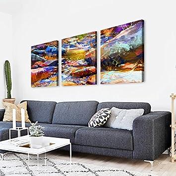 Paintsh Moderne Vertikale Veranda Wohnzimmer Malerei Gold Baum Wandbilder Wohnzimmer  Abend Öl Malerei Einfache Holz Kreativ