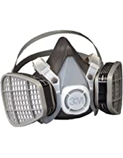 3M Half Facepiece Disposable Respirator Assembly 5301, Organic Vapor Respiratory Protection, Large(Pack of 1)