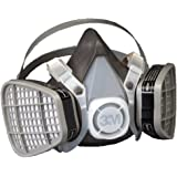 3M Disposable Respirator, Half Face Piece Assembly 5301, Organic Vapor Respiratory Protection, Large Size