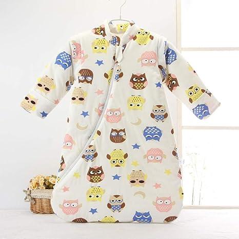 Saco de dormir para niños de 0-6 años edredón antideslizante engrosado Saco de dormir cálido para bebés varones y mujeres-A_70cm bebé sacos de dormir para niños: Amazon.es: Bebé