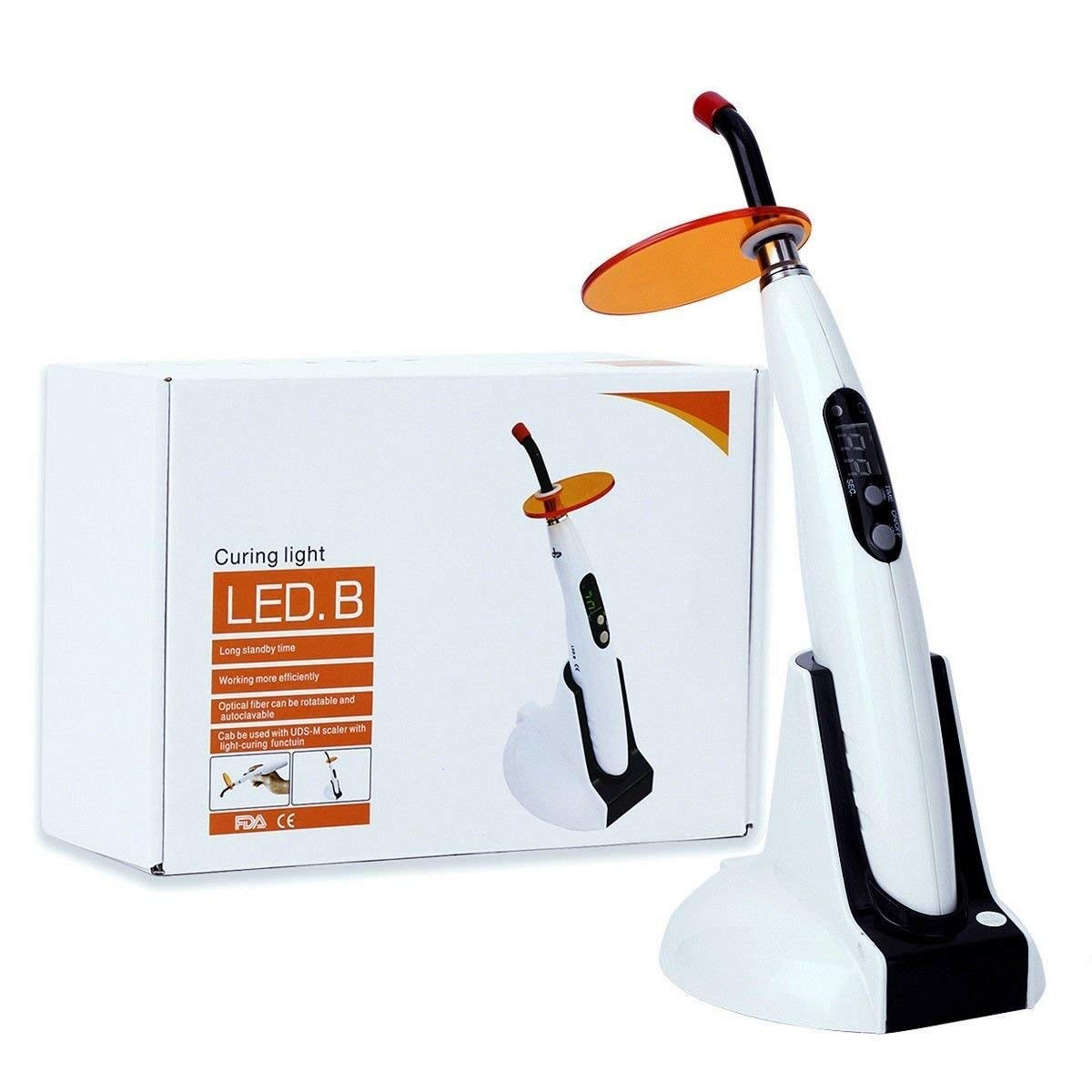 SoHome High Power 1400mw/cm2 LED Light Wireless Cordless Cure Lamp LED.B Woodpecker Style